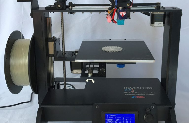 INVENT3D printer 2