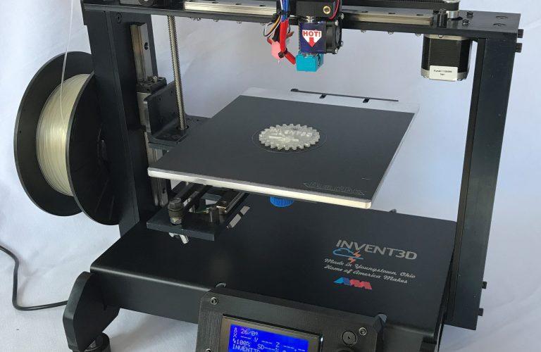 INVENT3D printer